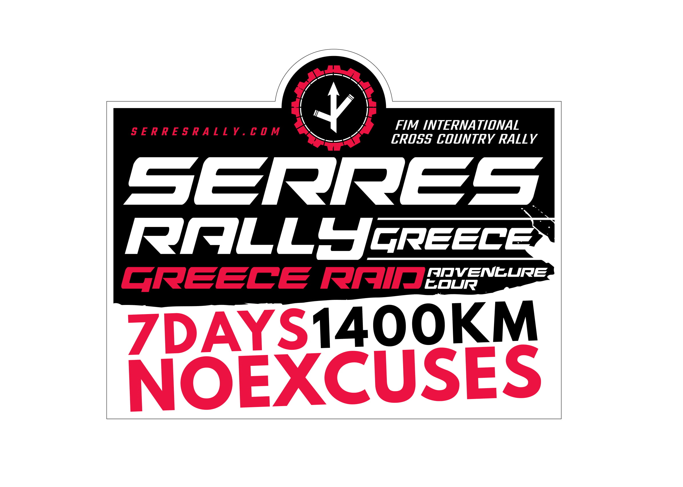 SR noexcuses stickers no date all 04